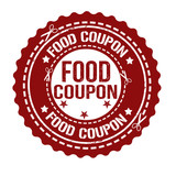 Food coupon stamp