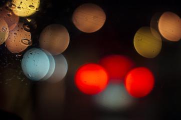 Driving under rain