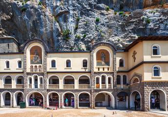 Ostrog ortodox monastery. Montenegro