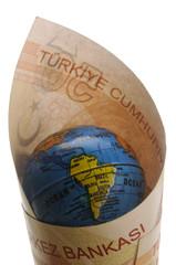 Türkiye Cumhuriyeti Turkey money Turkish lira ليرة تركية