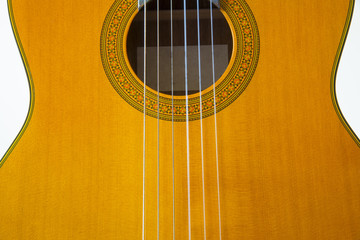 Close up guitar