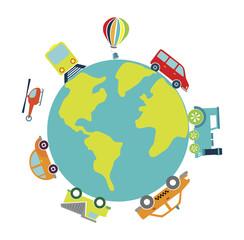planet transport design