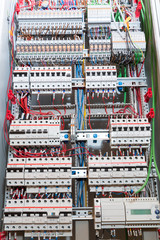 Switchgear cabinet front view image