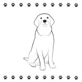 Pooch Drawing poster