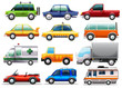 Different types of cars