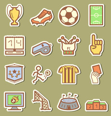 Socker icons