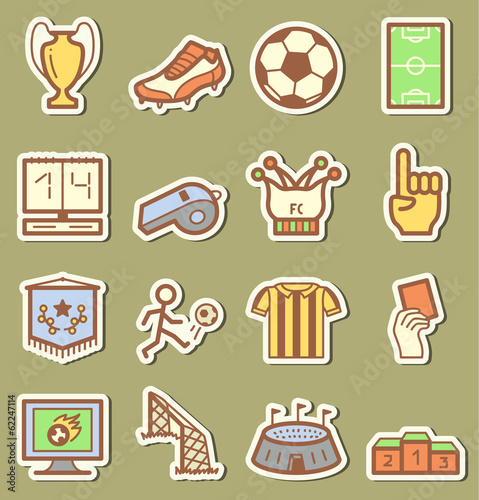 Socker icons