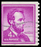 UNITED STATES - CIRCA 1954: stamp printed in United states (USA)