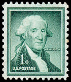 USA - CIRCA 1954: A stamp printed in the USA, shows the Portrait