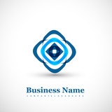 Business abstract creative icon design Vector