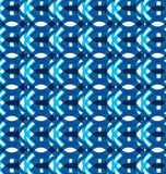 Seamless geometry blue colorful pattern texture background vecto