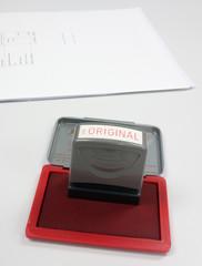 Original stamper