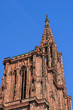 France, cathedral of Strasbourg in Alsace