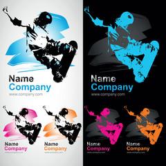 skateboard skate xtrem club logo