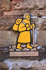 Simbolo via francigena