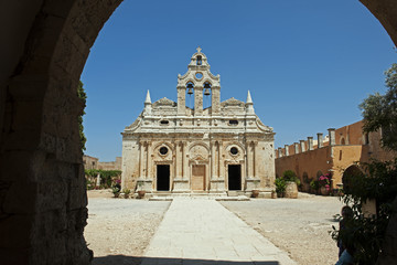 Kloster von Arkadi uf Kreta