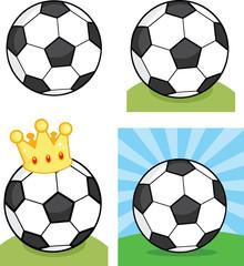 Soccer Balls. Set Collection