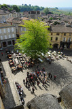 Village Square of Saint Emilion, Gironde, Aquitaine, France