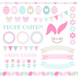 Easter Icon Set Pastel