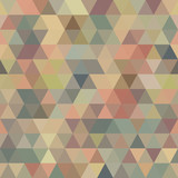 Repeat  Vector  Seamless Pattern color Triangle