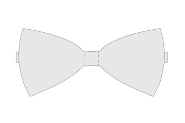 cartoon image of bow tie