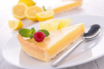 lemon tart citrus