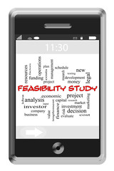 Feasibility Study Word Cloud Concept on Touchscreen Phone