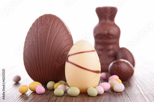 chocolate egg