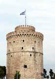 white tower Thessaloniki famous landmark