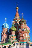 St. Basil Cathedral, Red Square, Moscow, Russia.