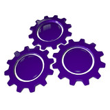 Gear Wheel - Purple & White