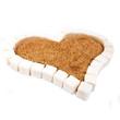 Heart from  sugar