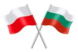 Flags: Poland and Bulgaria