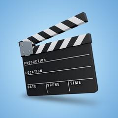 3D Icon Filmklappe