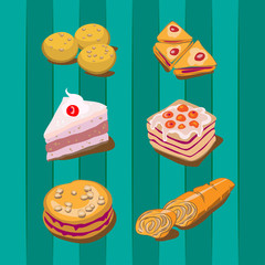 Bakery and cakes