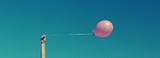 pink balloon wallpaper