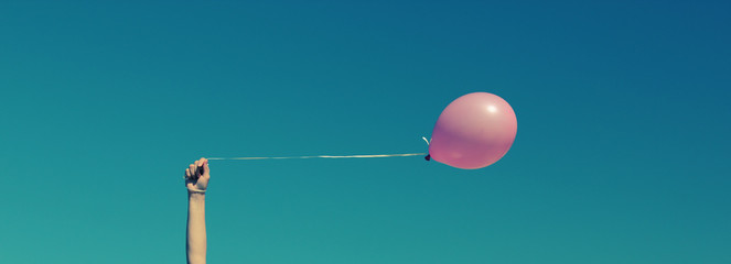 pink balloon wallpaper