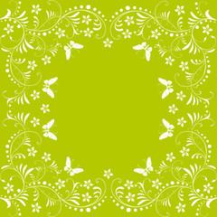floral,frühling,blatt,abstrakt,grün,hellgrün,silhouette,3d