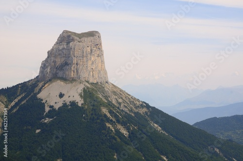 Mont Aiguille (2,085 m (6,841 ft), France