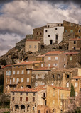 Village of Speloncato in the Balagne region of Corsica