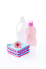 cotton towels and laundry detergents