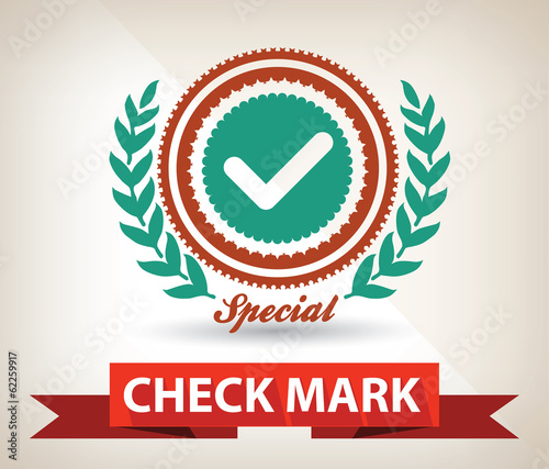 Check mark symbol,vector
