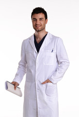 Retrato de un medico,doctor,enfermero.