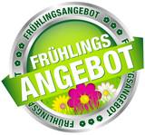 """Button Banner """"Frühlingsangebot"""" grün/pink/silber"""