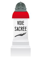 Borne - Voie Sacrée - Bar-le-Duc à Verdun