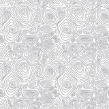 Vector seamless abstract simple pattern with concentric curved c