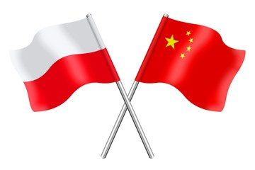 Flags: Poland and China