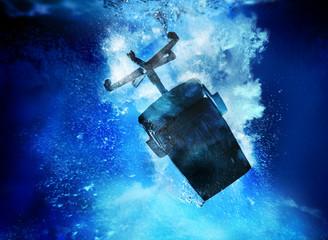 sinking chair