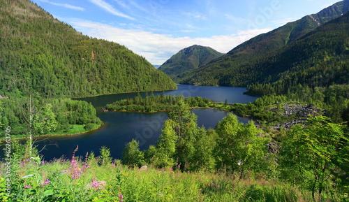 Sable lakes. Khamar-Daban, southern Near-Baikal territory.