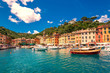 canvas print picture - Portofino
